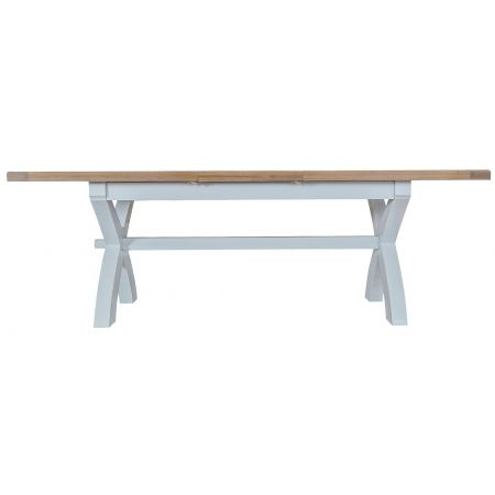 Trent Butterfly 1.8M Extending Table Grey