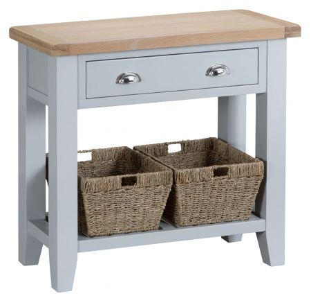 Trent Console Table Grey
