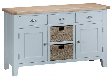 Trent Large Sideboard Grey