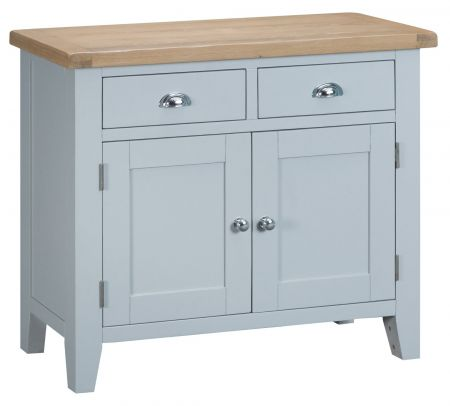 Trent 2 Drawer 2 Door Sideboard Grey