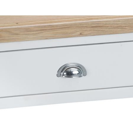 Trent Console Table White
