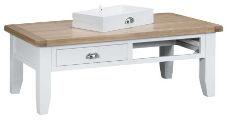 Trent Coffee Table White