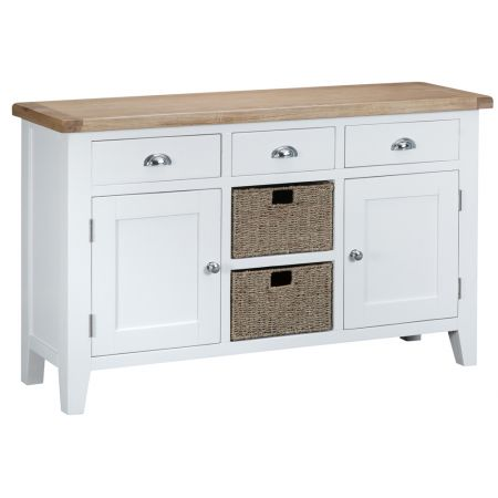Trent Large Sideboard White