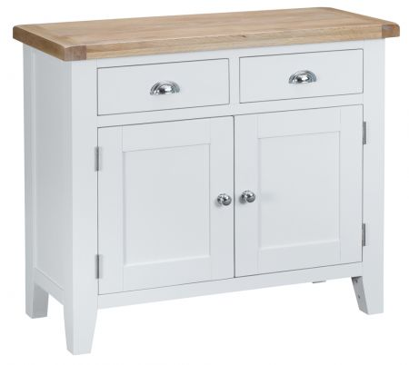 Trent 2 Drawer 2 Door Sideboard White