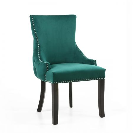 Leon Brushed Velvet 2 Accent Chairs