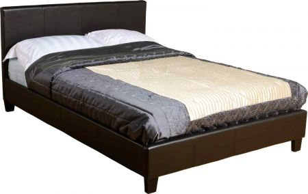 Praxo Leather Bed