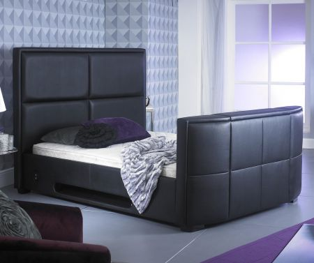 Luciana TV Bed Leather