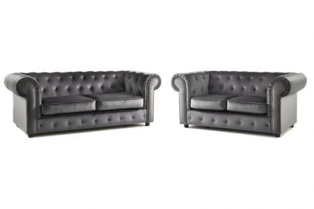 Alexia Chesterfield Sofa Set