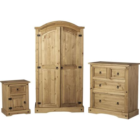 Manchester Bedroom Trio Pine