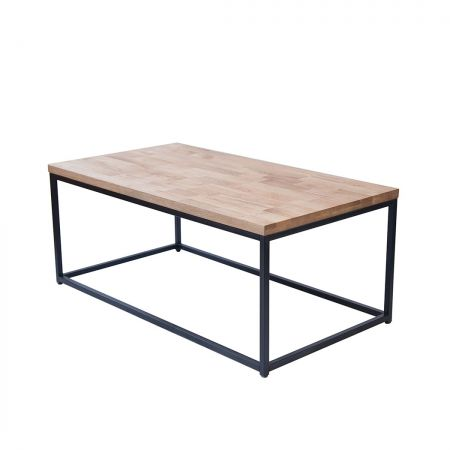 Mirelle Coffee Table Solid Metal Frame