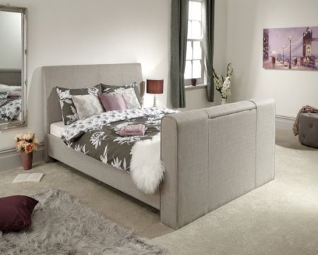 Inverness Fabric TV Bedstead