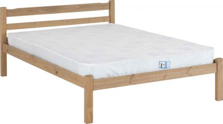 Pansiera Double Bed - Natural Wax