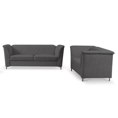 Luxure Corner 2C1 Sofabed, 2 Seater, 3 Seater Sofa & Armchair