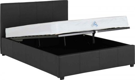 Praxo Ottoman Bed - Faux Leather