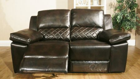 Roseana Leather Recliner Sofa Set