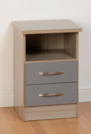 Maison 2 Drawer Bedside