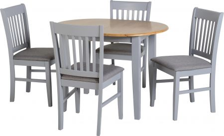 Spindle Extending 4 Seater Dining Set