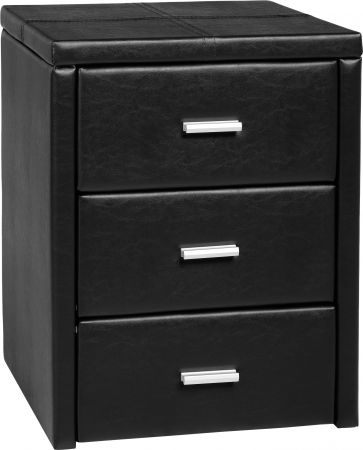 Mako 3 Drawer Bedside Chest
