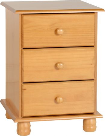 Countess 3 Drawer Bedside Chest