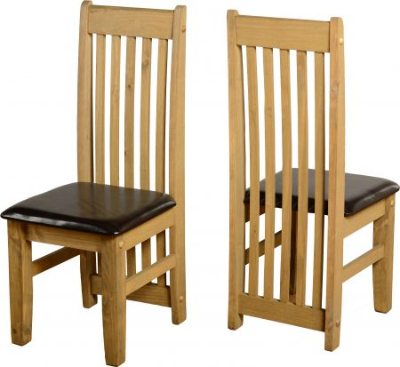 Chester Chair in Pine Set of 2