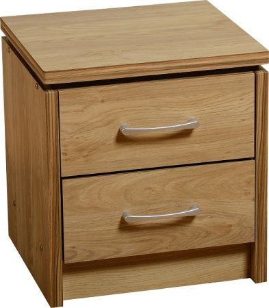 Hunter 2 Drawer Bedside Chest