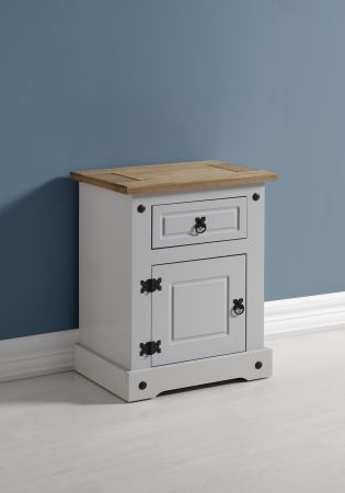 Darwin 1 Drawer 1 Door Bedside Cabinet