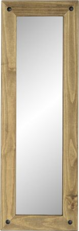 Darwin Long Wall Mirror in Pine