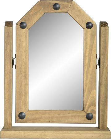 Darwin Single Swivel Mirror in Pine