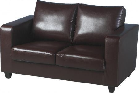 Corsair Two Seater Sofa-in-a-Box in Brown