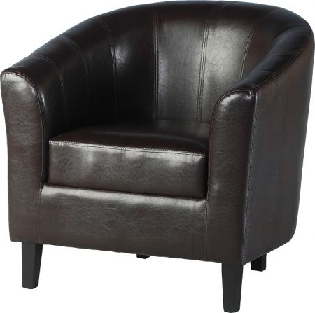 Corsair Tub Chair in Brown