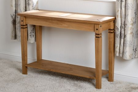 Earl Console Table in Pine
