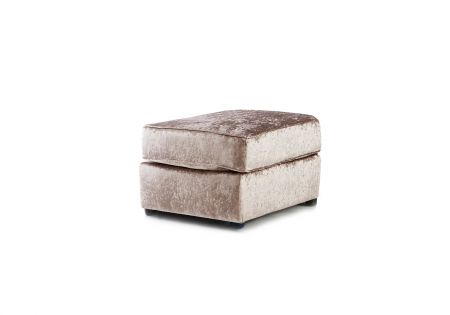 Mylon Crushed Velvet Footstool