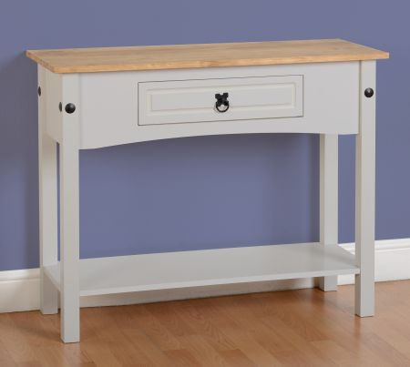 Darwin 1 Drawer Console Table with Shelf