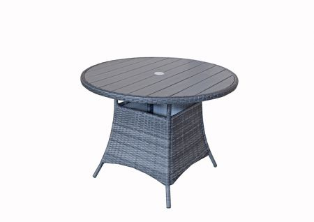 Emira Round Table 100 Dia With Polywood Top