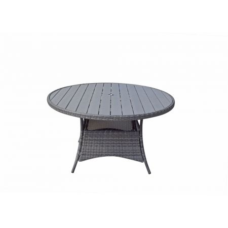 Emira Round Table 135 Dia With Polywood Top