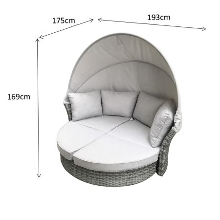 Litos Daybed Grey