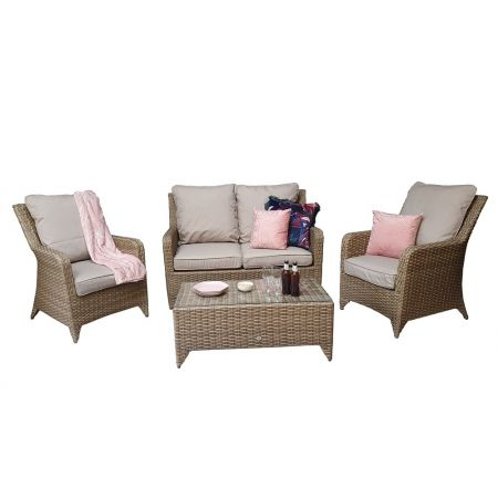 Shanice 4 Seater Sofa In Nature