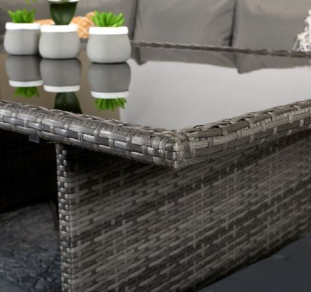 Chanelle Corner Dining In Grey