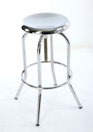 Gabriel Chrome Bar Stool