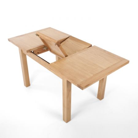 Illona Medium Extendable Solid Oak Natural Dining Table