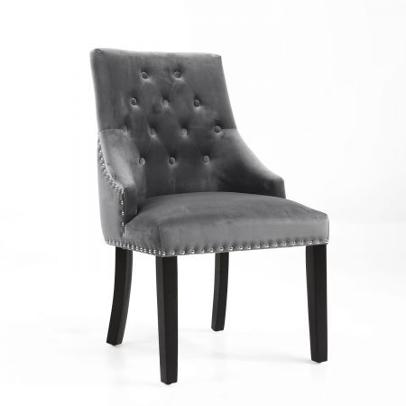 Logan Brushed Velvet 2 Accent Chairs