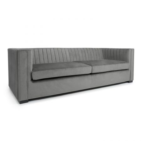 Xander 4 Seater Brushed Velvet Sofa