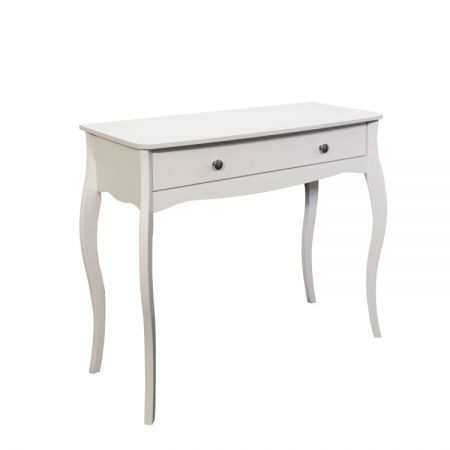 Branson White 1 Drawer Vanity