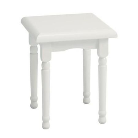 Readlon White Stool
