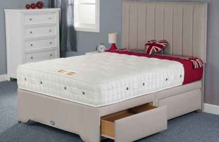 Swanick 4000 Summer and Winter Pocket Sprung Mattress 12 inch - 4ft6, 5ft, 6ft Size