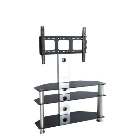 Hapsen Silver Tv51351 Tv Stand With Bracket And S Shelves