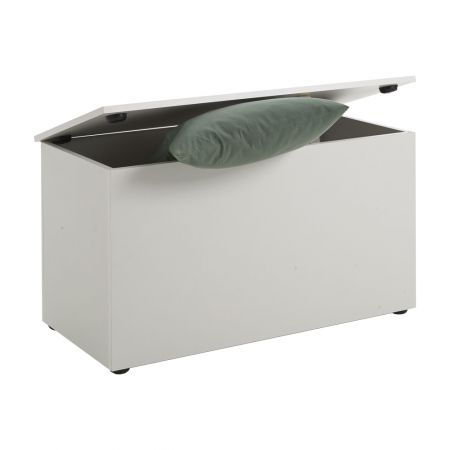 Hoxton 2 Storage Bench White