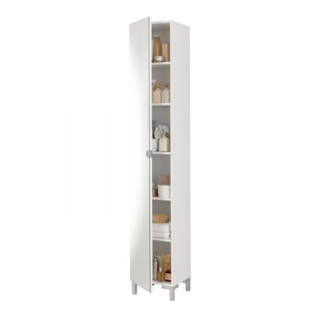 Tibia Bathroom-Cabinet White
