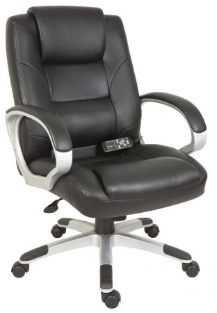 Lambeth Massage Black Office Chair