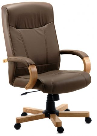 Rainham Brown Office Chair